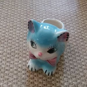 Vintage/MCM Grantcrest Japan Cat Planter